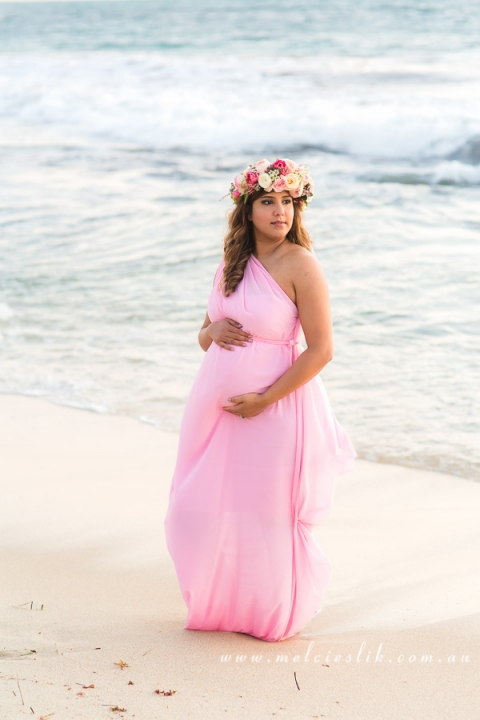 perth-maternity-photography-beach-flowercrown